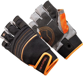 skylotec-skygrip-half-finger-black-orange-s