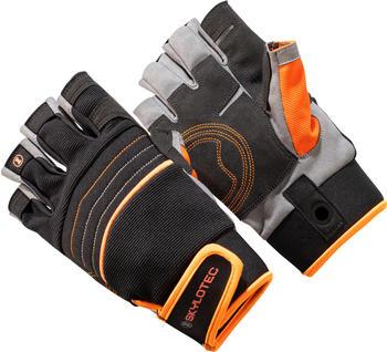 skylotec-skygrip-half-finger-black-orange-m