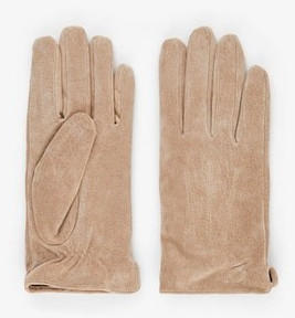Pieces PCNELLIE SUEDE GLOVES NOOS (17106009) natural