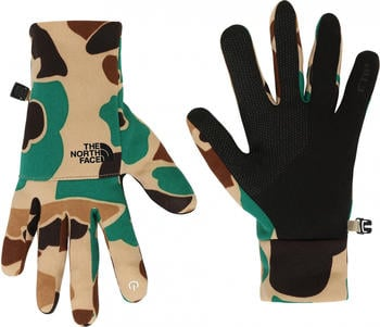 The North Face Etip Recycled Glove khaki duck/camu print