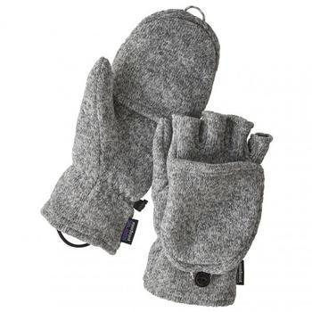 Patagonia Better Sweater Gloves birch white