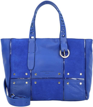 Liebeskind Mix N´Patch Suede Tote M deep blue