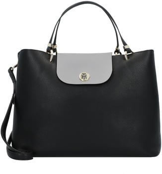 tommy-hilfiger-my-tommy-plaque-detail-satchel-black-frost-grey-aw0aw07315