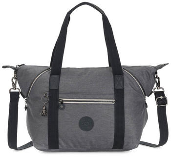 Kipling Peppery Art Medium Tote Charcoal