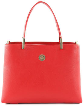 Tommy Hilfiger TH Core Medium Satchel Barbados Cherry (AW0AW07969)