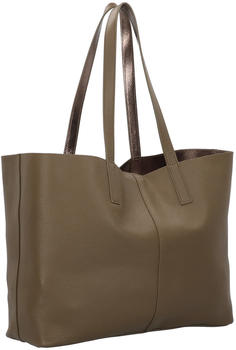 Liebeskind Reversible Shopper L dark olive green (T1.910.94.2281)