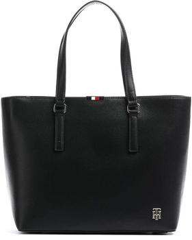 tommy-hilfiger-monogram-pebble-grain-tote-aw0aw08537-black