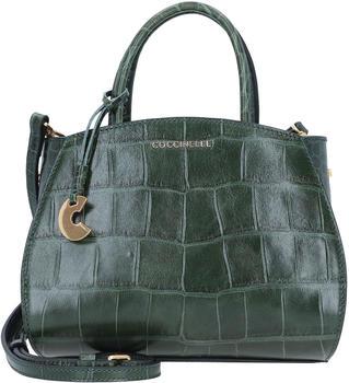 Coccinelle Concrete Croco Maxi Mini Handbag mallard green