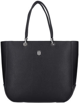 tommy-hilfiger-th-essence-monogram-plaque-tote-bag-black
