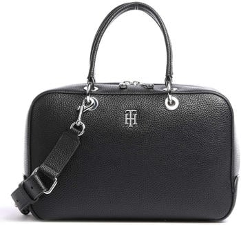 tommy-hilfiger-th-essence-pebble-grain-duffle-bag-black