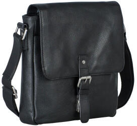 Georg A. Steinmann Lederwarenfabrik GmbH & Co. KG Leonhard Heyden Berlin Messenger Bag S Black