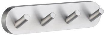 Smedbo Home Viererhakenleiste (HS359) mattchrom
