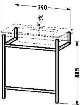 Duravit DuraStyle Handtuchhalter (DS9892)