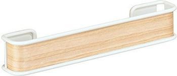 InterDesign Affixx Peel and Stick weiß/helles Holz (90780)