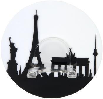 Wenko Static-Loc Wandhaken Duo City 8,5x2x8,5cm mehrfarbig (20197100)