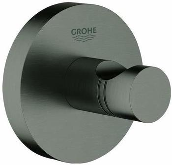 GROHE Essentials Bademantelhaken hard graphite gebürstet (40364AL1)