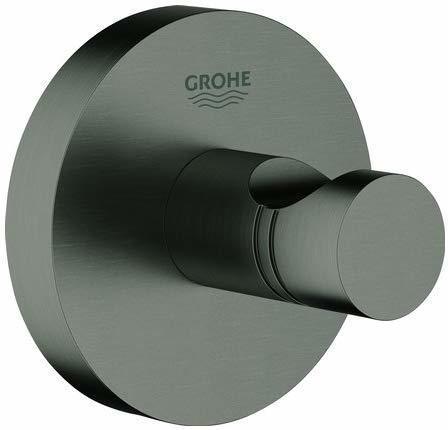 GROHE Essentials Bademantelhaken hard graphite gebürstet (40364AL1)