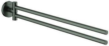 GROHE Essentials Handtuchhalter hard graphite gebürstet (40371AL1)