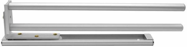 Fackelmann Handtuchhalter-Auszug silber matt (86953)