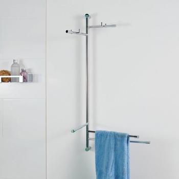 Giese Bader mit Garderobenstangen und Handtuchhalter 1000x510mm (30830-02)