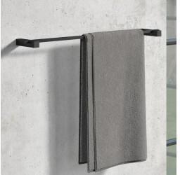 Zack ZACK CARVO Handtuchstange 658 x 23 x 100 mm schwarz (40502)