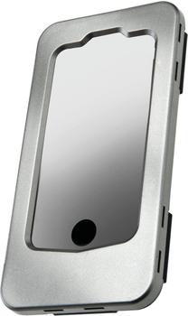 Wahoo iPhone Fahrradhalterung silver grey metall 4008