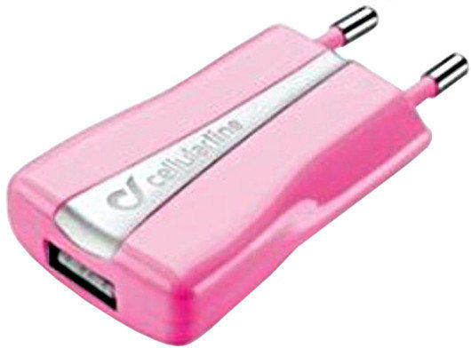 Cellular Line Mini-USB-Ladegerät 1A schwarz