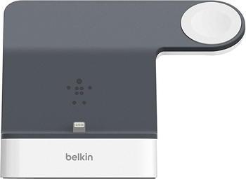 Belkin PowerHouse Ladestation (iPhone/Watch) weiß