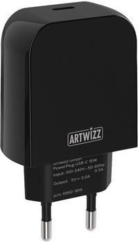 Artwizz PowerPlug USB-C 15W schwarz