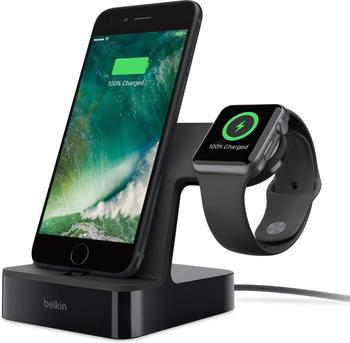 Belkin PowerHouse Ladestation (iPhone/Watch) schwarz