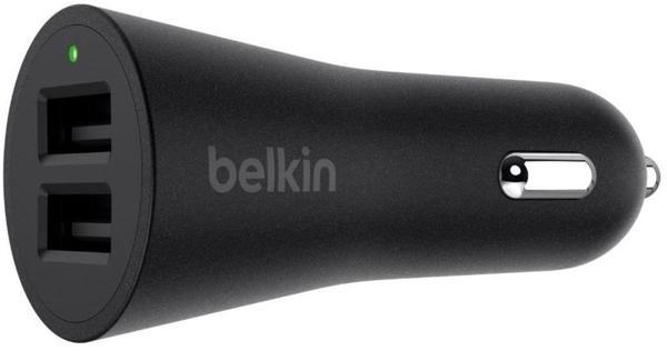 Belkin BoostUp Dual USB KfZ-Ladegerät (F8M930btBLK)