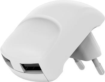 Goobay Dual USB Ladegerät 2,4A weiß