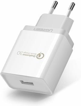 Ugreen USB Ladegerät 18W QC 3.0 weiß