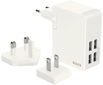Leitz Complete 4x USB Reise-Netzteil 24W