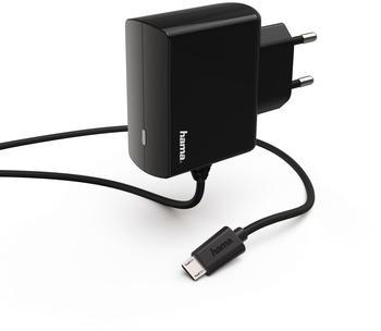 Hama Ladegerät, Micro-USB, 1,2 A Schwarz