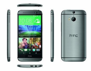 Testbericht HTC One M8 grau