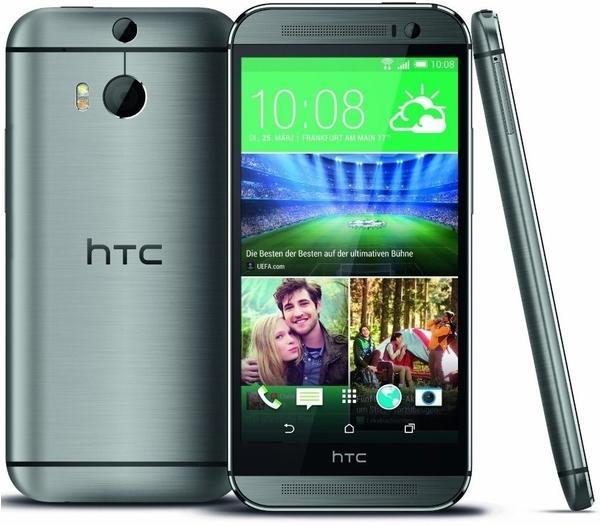 HTC One M8 grau