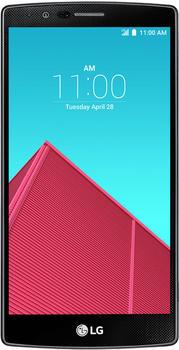 LG G4 Leder Schwarz