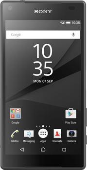 Sony Xperia Z5 Compact 32 GB Schwarz