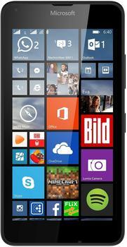 Microsoft Lumia 640 LTE Dual SIM schwarz