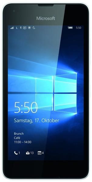 Microsoft Lumia 550 weiß
