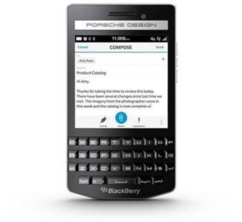 BlackBerry Porsche Design P9983 schwarz