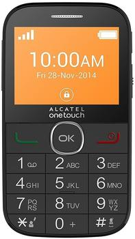 Alcatel One Touch 2004G schwarz