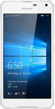 Microsoft Lumia 650 LTE light silver/white