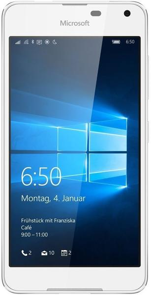 Microsoft Lumia 650 LTE light silver/white