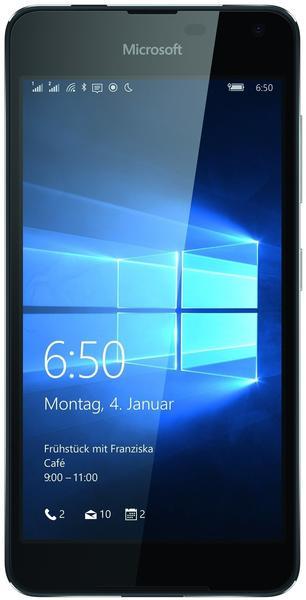 Microsoft Lumia 650 Dual SIM schwarz