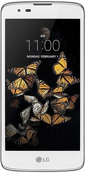 LG K8 Smartphone, 12,7 cm (5 Zoll) Display, LTE (4G), Android 6.0) (Marshmallow), 8,0 Megapixel, NFC weiß