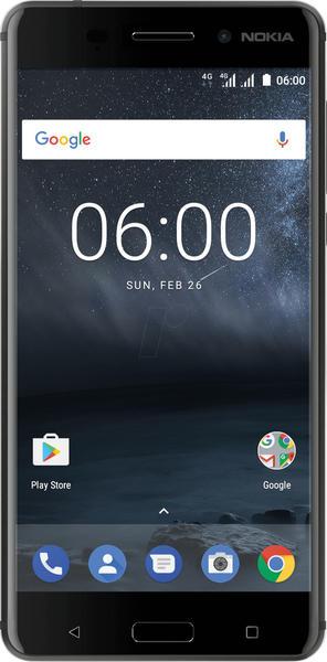 Nokia 6 schwarz