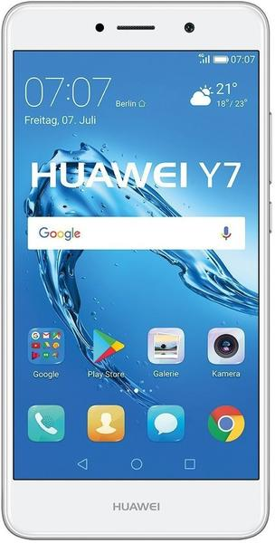 Huawei Y7 Silber