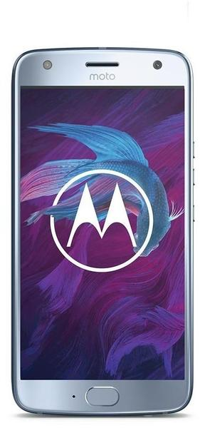 Motorola Moto X4 blau